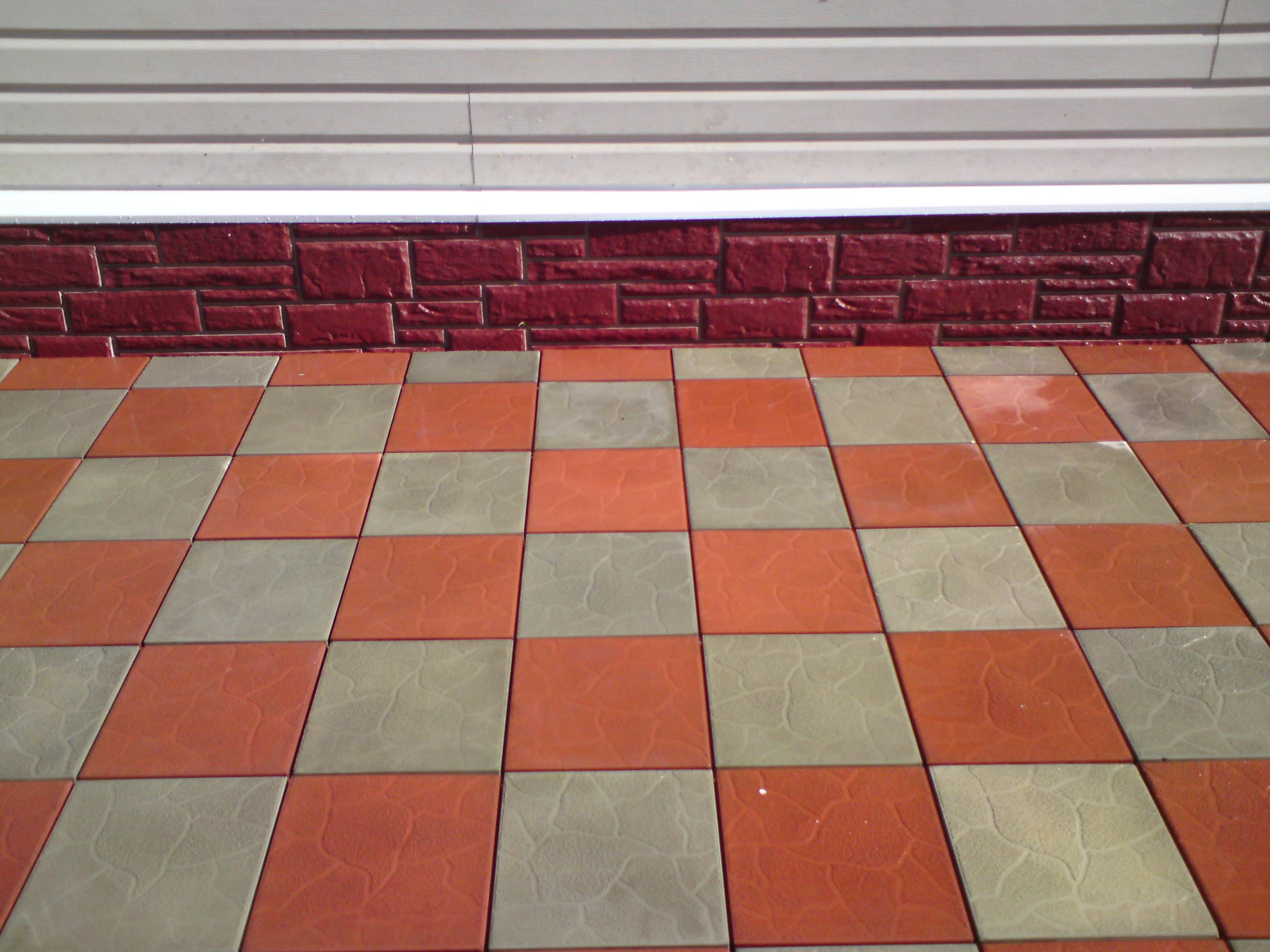 Тротуарная плитка. Укладка (фото)