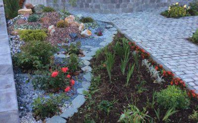 Укладка тротуарной плитки – примеры