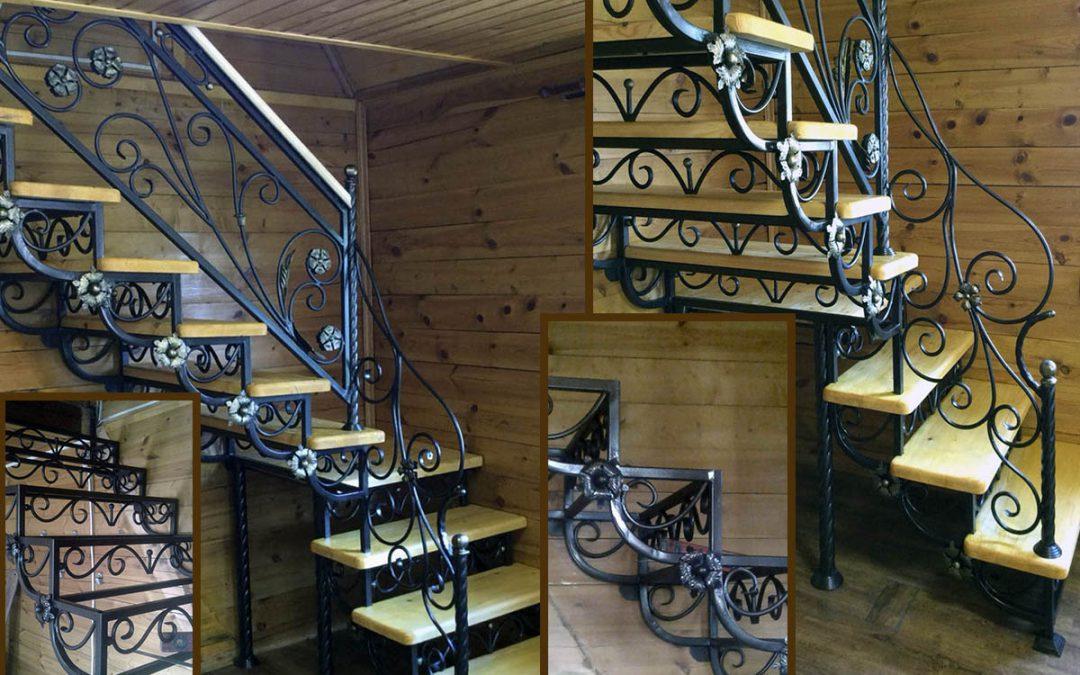 Кованные лестницы в Домодедово