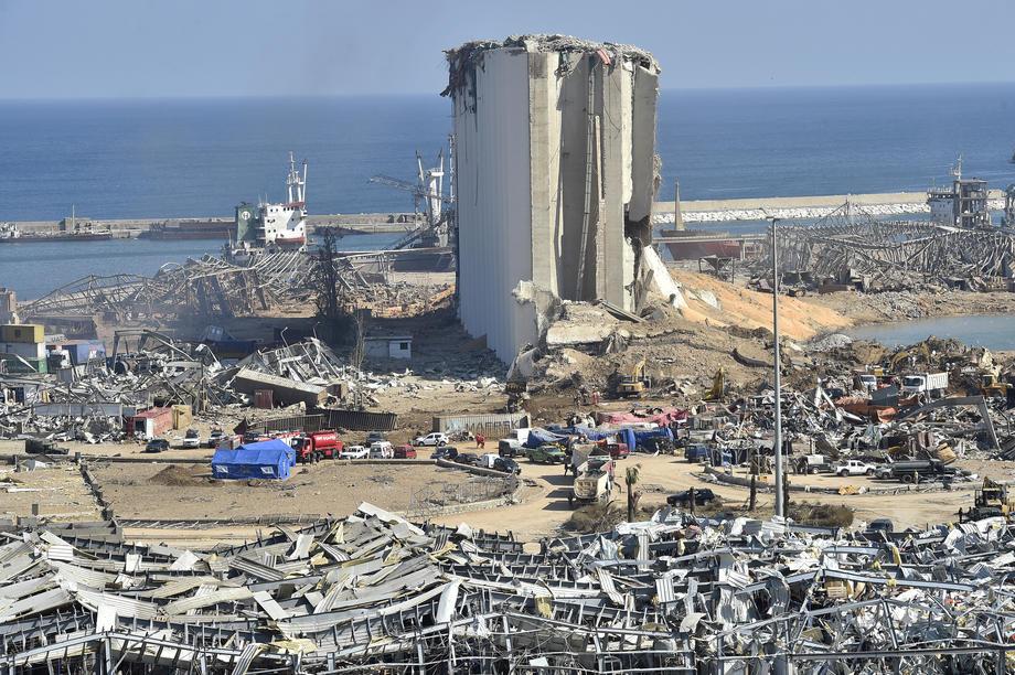 Бейрут после трагедии 4 августа, фото: EPA.com