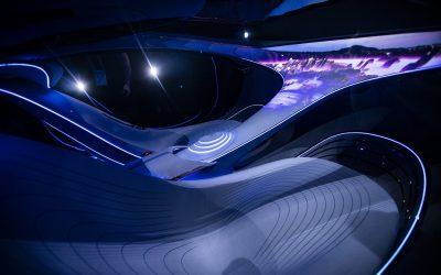 "В Mercedes-Benz испытали футуристический электрокар по мотивам ""Аватара"": видео"