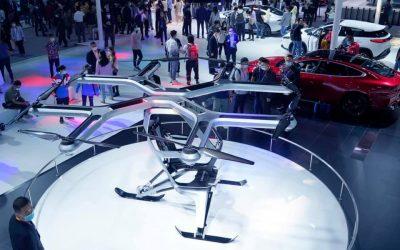 Пекинский автосалон 2020: летающие авто и электрокары в стиле ретро – фото