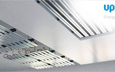 Единая система потолочного отопления и охлаждения Uponor: высокоэффективное инновационное решение для достижения максимального комфорта